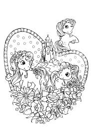 My Little Pony Coloring Pages To Print And Color In For Free Pony Color Page
