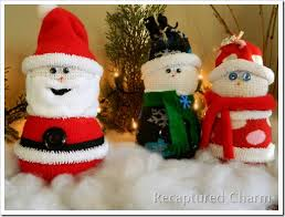 sock santa clause find projects to do at home and arts