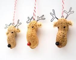 26 easy ornament crafts for preschool peanut reindeer