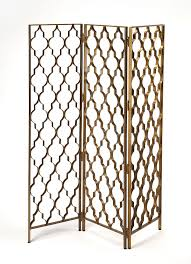 Quatrefoil Room Divider Quatrefoil Gold Metal Indoor Screen Heathertique