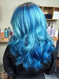 hair color dark on top light on bottom 21 bold and beautiful blue ombre hair color ideas page 7