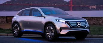 rose gold car mercedes benz concept eq emission free into the future