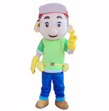 new handy manny mascot costume halloween mascot costumes for sale
