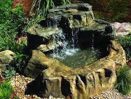 Waterfall Backyard Backyard Waterfalls Backyard