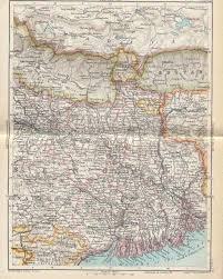 Nepal India Map by Historical Maps Of India