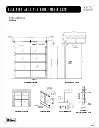 garage door dimensions single car wageuzi