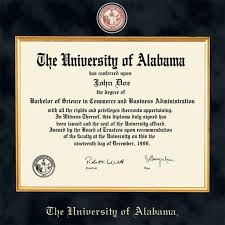 of alabama diploma frame of alabama diploma frame excelsior graduation gift