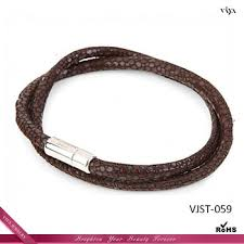 bracelet health magnetic images 2014 latest fashion health magnetic stingray leather bracelet jpg