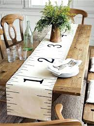 table runners elegant dining room table runners dining room table