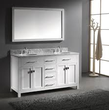 Double Vanity Basins Bathroom Exciting 60 Inch Vanity Double Sink For Modern Bathroom