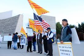 San Jose Flag Bay Area Vietnamese Promote Uprising In Vietnam U2013 Silicon Valley
