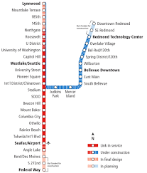Seattle Link Light Rail Map by Project Update East Link Extension 5 3 2016 Sound Transit