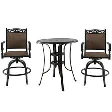 Balcony Bistro Set Patio Furniture Bistro Sets Patio Dining Furniture The Home Depot