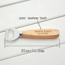 bottle opener wedding favors personalised wood bottle opener wedding favour personalized