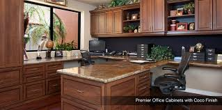 Custom Home Office Cabinets In Custom Made Craftsman Style Desk System Home Decor Pinterest