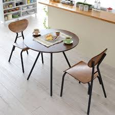 Cafe Dining Table And Chairs Interior Palette Rakuten Global Market Table Chairs 3 Point Set