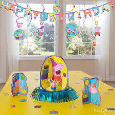 peppa pig decorations peppa pig party ideas party city