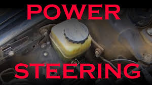 power steering fluid change toyota lexus youtube