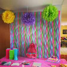 party backdrops troll backdrop laya s troll party backdrops troll