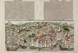 Constantinople Europe Map Free Here by Constantinopolis Schedel Turkey Istanbul Constantinople 1493