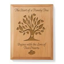 family tree wooden plaque