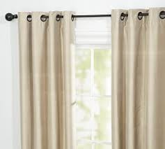 Dupioni Silk Drapes Discount Drapery Panels Silk Drapes U0026 Silk Curtains Pottery Barn