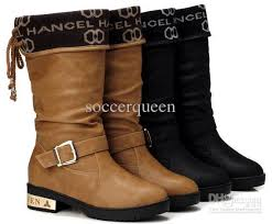 mic cheap high cut womens design winter boots warm boot shoes