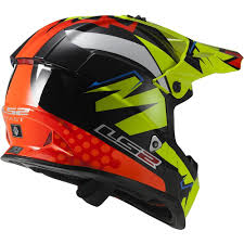 orange motocross helmet ls2 2016 fast mx437 explosive motocross full face helmet available