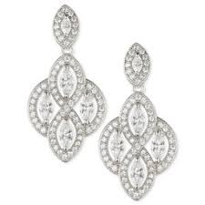 Sparkly Chandelier Earrings Look Of The Day Instyle Com