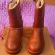 ugg s boots chestnut 29 ugg boots water resistant leather uggs chestnut from