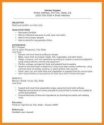 Prep Cook Resume Examples Prep Cook And Line Cook Resume Samples Resume Genius