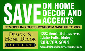 Design and Home Decor Outlet Idaho Falls ID