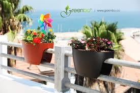 balkon blumenkasten greenbo xl railing deck new design planter blumenkasten
