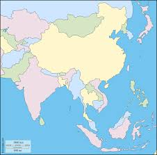 Map East Asia by South And East Asia Free Map Free Blank Map Free Outline Map