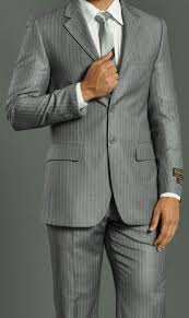 what color shirt with light grey suit three button light grey suit regular fit pinstripe suit