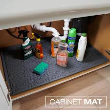 sink kitchen cabinet mat xtreme mats kitchen 22 in x 31 in grey cabinet mat fits cabinet size 31 in x 22 in