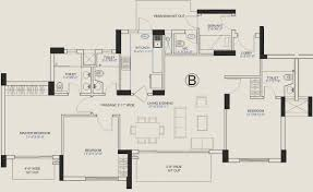 Central Park Floor Plan by 1960 Sq Ft 3 Bhk 4t Apartment For Sale In Central Park Central