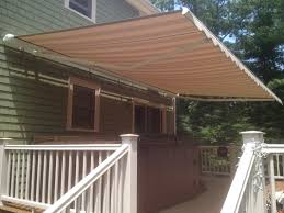Retractable Awning With Screen Awnings Roofing General Contractors In Ma Sondrini Com