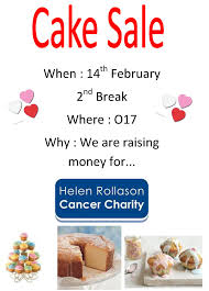 rokell house cake sale william edwards school