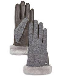 ugg gloves sale usa ugg gloves leather gloves winter gloves mittens lyst