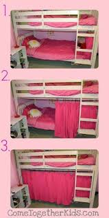 Bunk Bed With Tent At The Bottom No Sew Bottom Bunk Fort Or A Way To Hide The Catastrophe