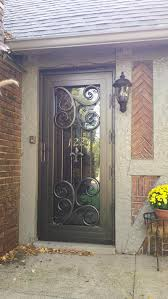 pleasurable front door exterior home deco contains strong wooden iron crafters llc louisville iron doors balusters and windows