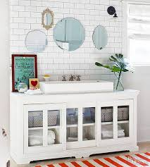 Furniture Vanity For Bathroom 14 Ideas For A Diy Bathroom Vanity