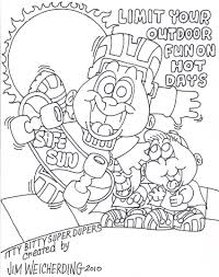 summer safety worksheets coloring pages with sun creativemove me