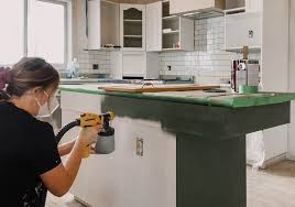 best wagner sprayer for kitchen cabinets painting kitchen cabinets with a sprayer lemon thistle