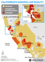 map of california california map how the deadly wildfires are spreading