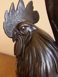 a fine japanese bronze cockerel meiji period 1868 to 1912 japan