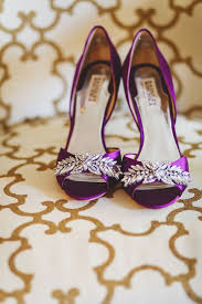 purple wedding shoes chwv