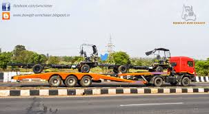 tata prima lx trailers on nh4 biswajit svm chaser