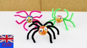 spider lollipop for halloween deco and gift idea crafts for